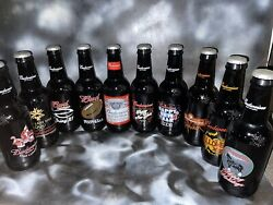 10set Vintage Budweiser Large 15 Glass Or Will Sell One Separately If Wanted