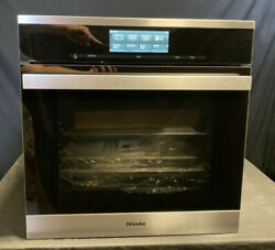 Miele DGC 6865 M Touch 24quot; 2.4 cu. ft. Electric Single Wall Steam Oven Black SS
