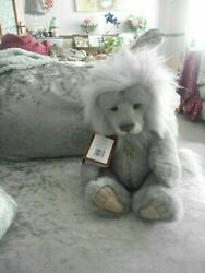 Charlie Bear Clock The Lion Wears A Key Has Padded Paws Stunning