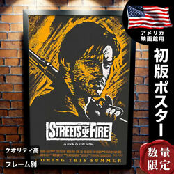 Street Of Fire Movie Posters By Frame Fashionable Interior Art Big Goods About