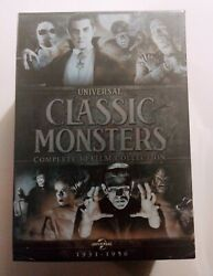 New Universal Classic Monsters. Complete 30 Film Collection. 21 Dvds. Free Ship