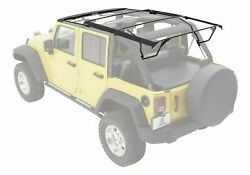 Replacement Soft Top Hardware Kit With Surrounds 2010-17 Jeep Wrangler Unlimited