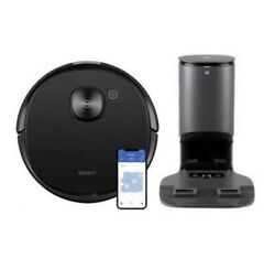 Ecovacs Deebot T8 Aivi Vacuuming And Mopping Robot With Auto-empty Station New