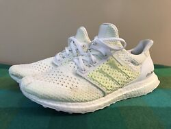 Adidas Ultraboost Clima - Menand039s Size 10 - White / Solar Yellow - Aq0481