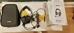 Bose A20 Aviation Headset With Bluetooth - Straight Cord - 6 Pin Lemo Mint