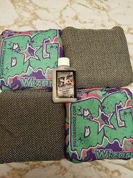 Bundle New Bg Cornhole Bags Wizards Acl Pro Rare Teal Acl Pro Stamp With Serum