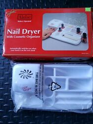 Nail Dryer With Cosmetic Organizer $5.00