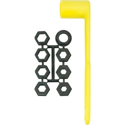 11370-7 Attwood Prop Wrench Set Fits 17/32 To 10/4 Prop Nuts