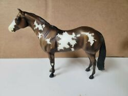 Breyer Overo Pinto Mare model horse brayer brier toy horse Traditional Scale 1:9
