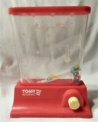Vintage 1970and039s Red Tomy Waterfuls Water Ring Toss Game
