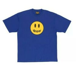 Drew House Fall Mascot T-shirt In Blue Size M Confirmed Preorder Free Shipping