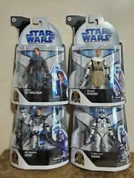 Star Wars The Black Series 50th Set Of Four Clone Wars Target Exclusive.6inch