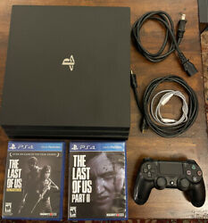 Playstation Ps4 Pro 1 Tb Bundle The Last Of Us Part 2 The Last Of Us Remastered