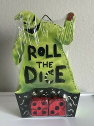 Nightmare Before Christmas Countdown To Halloween Oogie Boogie Roll The Dice