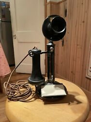 Early 1900's Western Electric Candle Stick Telephone Bell System
