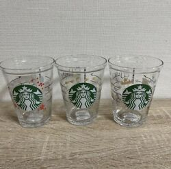 Starbucks Collectible Cold Cup Glass 414ml Limited 25th Anniversary Japan