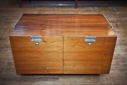 Herman Miller George Nelson Css Two Drawer File Cabinet With Working Key