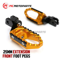 Trc 25mm Adjustable Rider Wide Footpegs For Yamaha Tzr 250 87-90 89 88