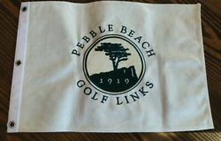 Pebble Beach Golf Links 1919 Commemorative Embroidered Canvas Golf Pin Flag
