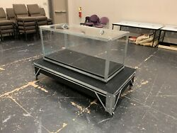 Stage Magic Crystal Cabinet Casket Appearance Theatre Illusion