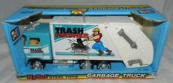 Nylint Steel Toys Trash Masher Garbage Truck, New In Box