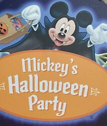 Disneyland - Mickeyand039s Halloween Party - Treat Trail Exit Sign Park Used Prop
