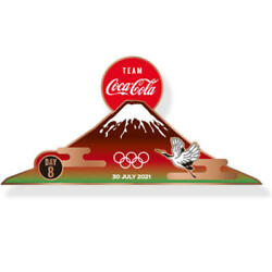 Cocacola Rare Pin Batch Tokyo 2020 Olympic Day Pin