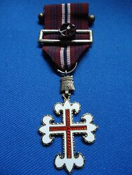 Portugal Portuguese Army Military Medal Merit Iii Class Model 1949