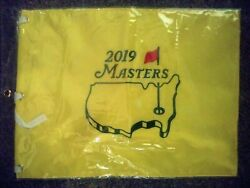 2019 Masters Flag Tournament Pin Augusta National Golf Club Tiger Woods Wins New