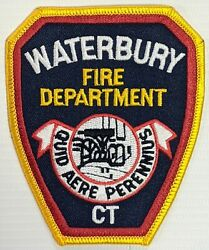 Connecticut - Waterbury Ct Fire Department Patch