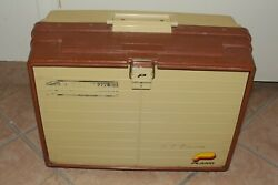 Vintage Plano 777rn Fishing Tackle Box Clean Inside