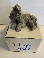 The Herd Flip 3107 Retired Martha Carey Elephant The Herd Collection With Box