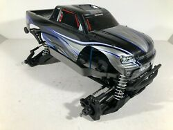Traxxas Stampede 4x4 Vxl/brushed Slider/roller With Traxxas Body 1/10