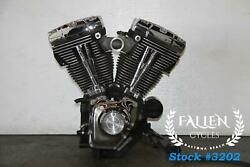 2001 Harley Road King Twin Cam 88 A Engine Motor Carb 61272 Mi Video
