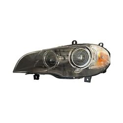 For Bmw X5 11-13 Replace Driver Side Replacement Headlight Lens And Housing