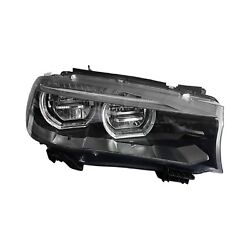 For Bmw X5 15-18 Replace Passenger Side Replacement Headlight Lens And Housing