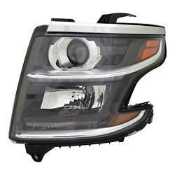 New Driver Side Halogen Headlight Assembly Without Logo 84294342