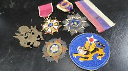 Wwii Us Army 14th Air Corps Force Grouping Order Of The Flying Cloud And Banner
