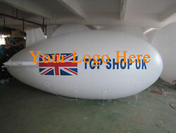 10m 32.8ft Giant Inflatable Advertising Blimp /flying Helium Balloon/your Logo A