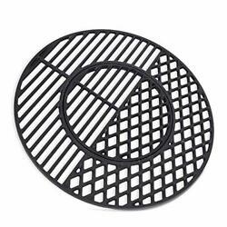 X Home 8835 Cast Iron Grill Grates For Weber 22.5 Inch Charcoal Grills, Kettle,