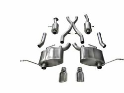 For 2011-2021 Jeep Grand Cherokee Exhaust System Corsa 48859mb 2012 2013 2014