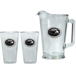 Southern Miss Usm Pitcher And 2 Pint Glass Set Beer Set