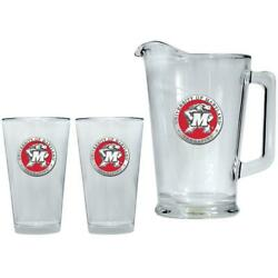 University Of Maryland Terps Pitcher And 2 Pint Glass Set Beer Set