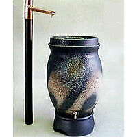 Made Of Pottery Rainwater Tanka No On Delivery