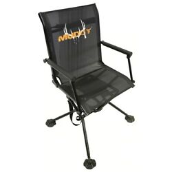 Muddy Swivel Ease Ground Seat With Adjustable Legs
