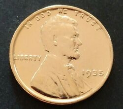 1935 Genuine Lincoln Wheat Penny Us Coin 24k Gold Plated Certificate Included