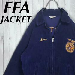 60s Triangle Tag Ffa Jacket Corduroy National Agricultural School Of America