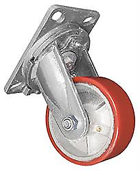 Ultra Fab Products Inc Ultra Swivel Skid Wheel - 5 In - For Class C-silver And