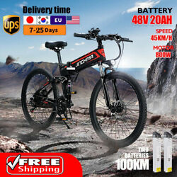 Electric Bicycle 800w 48v12.8ah 26 Inch R3 Mountain E Bike Foldable For Adults