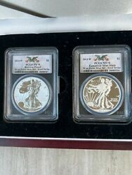 2013 Pcgs Reverse Proof West Point Mint Set First Strike